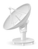 Satellite dish vector illustration Stock Photos