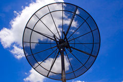 Satellite dishes.2 Fotografia Stock