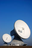Satellite dishes. Of a ground communication site in bavaria, germany Royalty Free Stock Photos