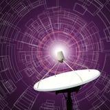 Satellite dishes antenna Stock Photo