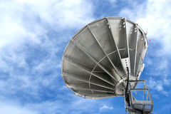 Satellite dishes antenna Stock Photo