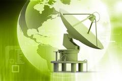 Satellite dishes antenna Stock Image