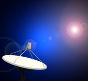 Satellite dishes antenna Stock Image