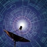 Satellite dishes antenna Stock Photography