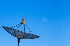 Satellite dishes communication technology network Stock Photos