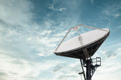 Satellite Dishes for telecommunication Stock Image