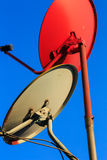 Satellite dishes Stock Photos