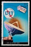 Satellite e radar Fotografie Stock