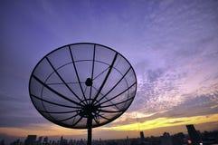 Satellite evening sky Stock Photos