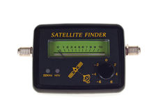 Satellite finder signal Stock Photo