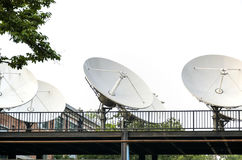 Satellite ground station. This paper also studies the software radio key techniques including direct digital frequency synthesizer and software adaptive symbol Stock Photo