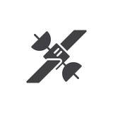 Satellite icon vector stock illustration