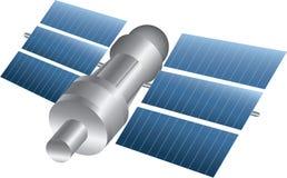 Satellite illustration Stock Image