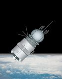 Satellite illustration Stock Photos