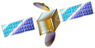 A satellite Stock Photography