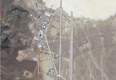 Satellite image of area 51