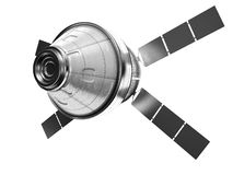 Satellite isolated royalty free stock image