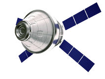Satellite isolated Royalty Free Stock Photos