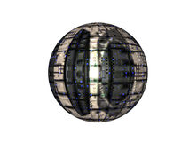 Satellite massif Photographie stock
