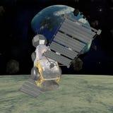 Satellite militaire Photographie stock libre de droits