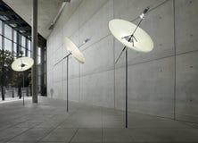 satellite moderno delle lampade Fotografia Stock