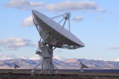 Satellite molto grande di schiera   Fotografia Stock