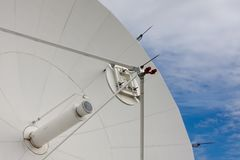 Satellite at National Radio Astronomy Observatory Royalty Free Stock Photos