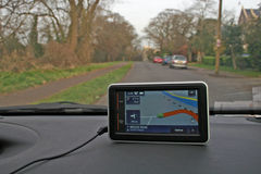 Satellite navigation device Royalty Free Stock Photography