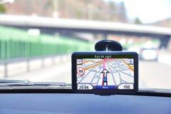 Satellite navigation system Stock Photography