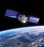 Satellite nello spazio Immagine Stock