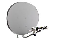 Satellite receive Dish Royalty Free Stock Photography