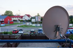 Satellite receiver Stock Image