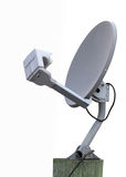 Satellite receiver dish Royalty Free Stock Image