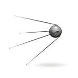 Satellite. A russian sputnik satellite in space Stock Photo