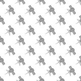 Satellite seamless pattern Royalty Free Stock Photography