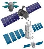 Satellite set Royalty Free Stock Photos