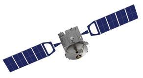 Satellite sopra i precedenti bianchi Fotografia Stock Libera da Diritti