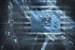 Satellite spia Fotografia Stock Libera da Diritti