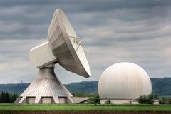 Satellite station Royalty Free Stock Photos