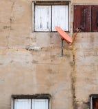 Satellite sulla parete Immagine Stock