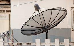 Satellite sulla terra Immagine Stock Libera da Diritti