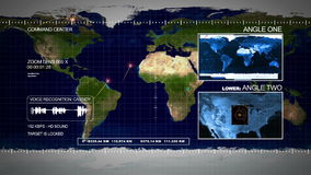 Satellite Surveillance stock video