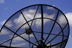 Satellite Telecommunications Royalty Free Stock Image