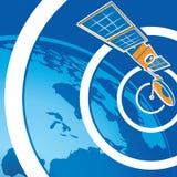 Satellite telecommunications Royalty Free Stock Images