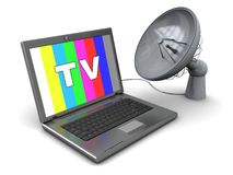 Satellite television Royalty Free Stock Photos