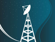 Satellite tower Stock Photo