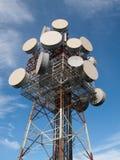 Satellite Tower at Mt Gravatt Lookout Stock Photos