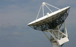 Satellite Tracking Dish Stock Images