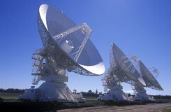 Satellite tracking station Stock Images