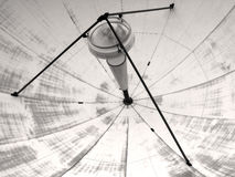Satellite transmission dish Stock Photos